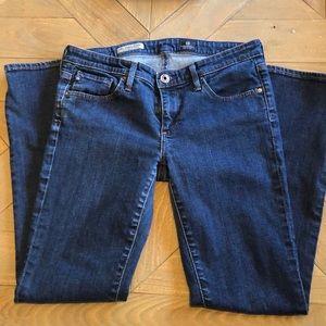 AG Stevie Petite Slim Straight Jean 27P